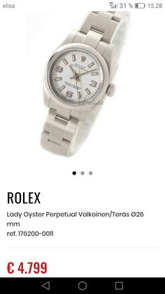 Oyster Perpetual, Oysters, Michael Kors Watch, Rolex, Bracelet Watch, Watches, Lady, Bracelets, Accessories