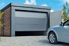 The gateway to happiness: Innovative sectional garage doors for … – Door Ideas House Fence Design, Design Garage, Carport Designs, Carport Garage, Pergola Carport, Gazebo, Diy Shed Plans, Garage Plans, Car Shed