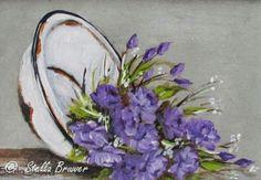 Lavender Flowers Art by Stella Bruwer
