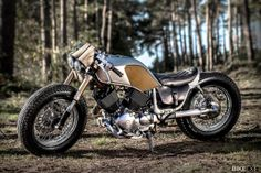 England's Old Empire Motorcycles has worked its magic again. Has the humble Yamaha Virago 535 ever looked so good?