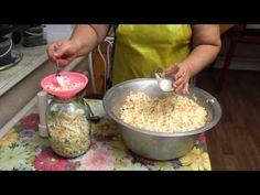 Классический бабушкин рецепт Квашеной капусты поздних сортов. - YouTube