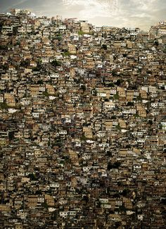 Favelas (slums) in Brazil. I want to make a difference in the slums. Favelas Brazil, Rio De Janerio, Slums, Urban Landscape, Wonders Of The World, The Good Place, Beautiful Places, Scenery, Around The Worlds