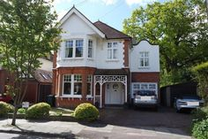 6 bedroom detached house for sale in Hadley Grove, Hadley Green - Rightmove. 1930s House Exterior, Victorian Homes Exterior, Dream House Exterior, Edwardian House, Victorian Houses, Edwardian Architecture, Rendered Houses, House Extension Plans, House Front