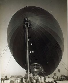 August 29, 1929: The Graf Zeppelin completes its global circumnavigation at Lakehurst, New Jersey.