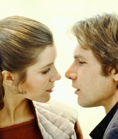 """Harrison Ford Remembers the """"One-of-a-Kind,"""" """"Emotionally Fearless"""" Carrie Fisher- Star Wars Harrison Ford, Carrie Fisher, Downton Abbey, Pixar, Princesa Leia, Leia Star Wars, Han And Leia, Darth Vader, Beautiful Love Stories"""
