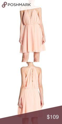 90029b967056e Haute Hippie Harmony Wrap Dress Light Pink Size L Haute Hippie Harmony Wrap  Dress Light Pink