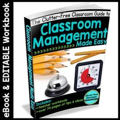 290 best classroom management strategies for elementary images on classroom management ebook 80 page ebook editable workbook fandeluxe Images