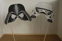 Handmade Wedding / Star Wars Photo Booth Props (10 props) on Etsy, £24.09