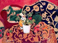 Henri Matisse - 129 Nature morte espagnole - Испанский натюрморт - - - Acheté à l'atelier, 5000 f - cat. Henri Matisse, Matisse Kunst, Matisse Art, Matisse Paintings, Paintings Famous, Famous Artists, Collages, Memento Mori, Matisse Pinturas