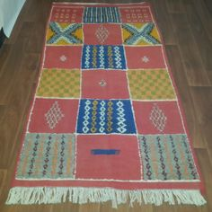 Moroccan Taznakht rug 189cm x 100cm vintage by Tourismedia on Etsy, $289.00