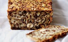 A nutty, satisfying loaf of delicious bread made with chia seeds and psyllium   husks