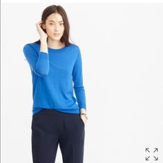 J.Crew Tippi sweater Perfect condition, 100% merino wool, no polling, no rips, no stains. J. Crew Sweaters