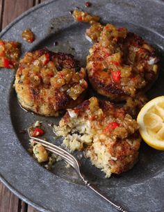 Cod Cakes Recipe - Saveur.com Use only half the potato though!  Delish!