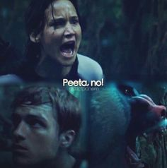 This part was intense. but I laughed when she said Peeta and he just picked up his head and said yeah ever so casually