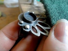 Making a ring - Realizzazione di un anello con castone