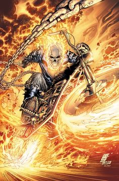 Ghost Rider  Auction your comics on http://www.comicbazaar.co.uk