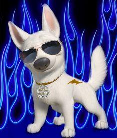 Photo of Bolt for fans of bolt disney 25300533 Disney Images, Disney Art, Disney Pixar, All Disney Movies, Disney And More, Penny Bolt, Animal Logo, My Animal, Bolt Dog