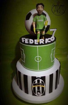 Juventus cake - Cake by D'Adamo Cinzia Football Birthday Cake, Soccer Birthday Parties, 5th Birthday Cake, Birthday Cakes For Men, Soccer Party, Football Cakes, Torta Blaze, Congratulations Baby Girl, Best Birthday Surprises