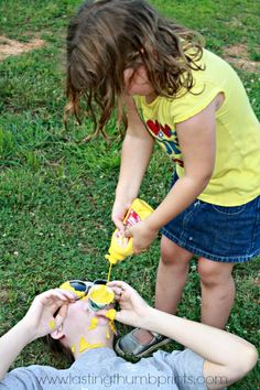 New Messy Outdoor Games For Teens Family Reunions Ideas Word Games For Kids, Building Games For Kids, Carnival Games For Kids, Youth Games, Rally Games, Group Games For Kids, Games For Teens, Messy Party Games, Kids Party Games