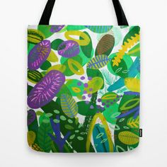 Between the branches. III Tote Bag by Milanesa - $22.00