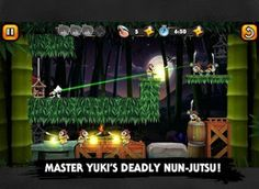 Nun Attack Origins: Yuki 1.02 Apk  Android Games  An ancient portal has opened releasing a force that razed the village and spirited the orphans away. Its up to Yuki Sister of Silence mistress of stealth and Nun-jutsu to eradicate this unrelenting evil. In this epic quest to save the missing orphans and avenge the village peek into Yukis past as she uses her deadly ninja war fans to kick some serious butt.In a world where the wicked know no rest you must hunt down the forces of evil and save…