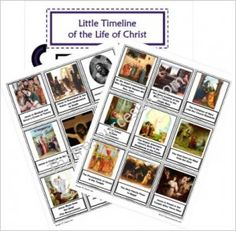 Little Timeline of the Life of Christ | Catholic Religious Education Resources for Teachers and Homeschoolers