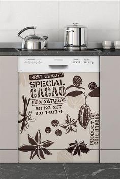 Equitable, Sticker Lave-vaisselle - Stickers électroménager #sticker #électroménager #deco #intérieur #papierpeint #surmesure #peinture #graphisme #wallpaper #lavevaisselle