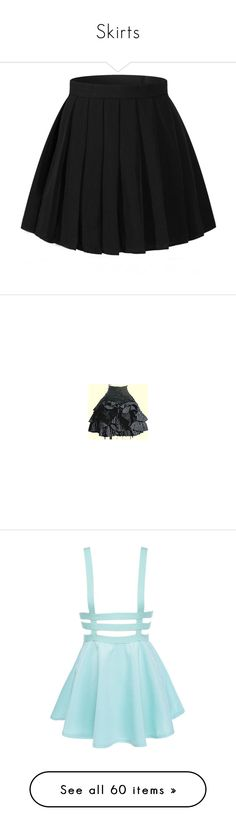 """""""Skirts"""" by ewokballerina ❤ liked on Polyvore featuring costumes, skirts, womens halloween costumes, lady halloween costumes, ladies costumes, role play costumes, womens costumes, bottoms, black and mini skirts"""