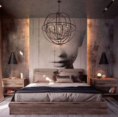 See more bedroom design ideas to inspire you for your interior design project! Look for more luxury decor inspirations at modernbedrooms Luxury Bedroom Design, Luxury Decor, Master Bedroom Design, Home Interior Design, French Interior, Modern Master Bedroom, Modern Bedroom Decor, Home Bedroom, Modern Bedrooms