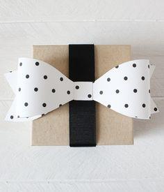 Polka Dot Bows (in 12 colors)