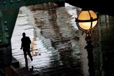 The sound of rain.  Photographer Christoph Jacrot
