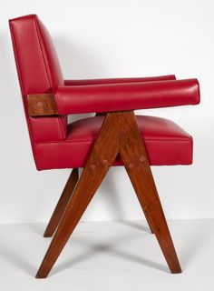 Shop armchairs and other antique and modern chairs and seating from the world's best furniture dealers. Pierre Jeanneret, Small Office, Mid Century Modern Furniture, Decoration, Chair Design, Mid-century Modern, House Design, Interior Design, Armchairs