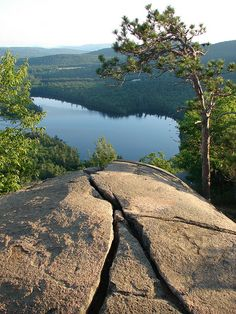 Want to win a vacation with hiking like this? Show us what you would do for a vacation in the Lakes Region of New Hampshire and you could win a 7-day trip for four to stay here - at RDC Squam Resort in Holderness, NH!