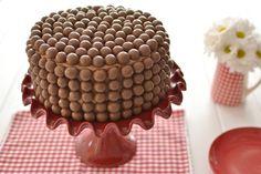 La chica de la casa de caramelo: Pastel de chocolate y Maltesers