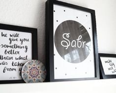 #islamic #art #wall #decor #islamicart Islamic Wall Decor, Islamic Art, Quran Quotes, Lettering, Instagram Posts, Quotes, Art, Letters, Texting