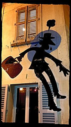 Mr Pee aka Thomas Dityvon in Montreuil, Rue Saint Germain à Romainville 93, 2015