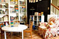 This vintage inspired playroom would be incredible -- so much space for the kids. http://thestir.cafemom.com/home_garden/167913/7_amazing_designs_for_kid?utm_medium=sm&utm_source=pinterest&utm_content=thestir