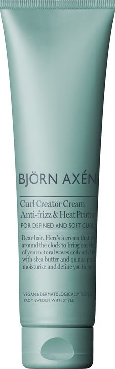 Curl Creator Styling Creme 150 ml - Björn Axén - KICKS Natural Waves, Soft Curls, Shea Butter, Diva, Moisturizer, The Creator, Makeup, Kicks, Style