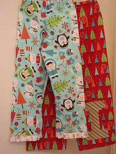Totally going to make Christmas pjs this year instead of buying them.