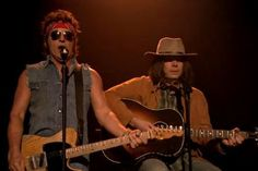 Bruce Springsteen and Jimmy Fallon Cover LMFAO's 'Sexy And I Know It'