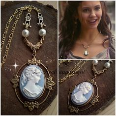 he Vampire Diaries jewelry Katherine Pierce by LAcchiappasogni
