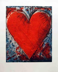 Red Stamp  Jim Dine  2010