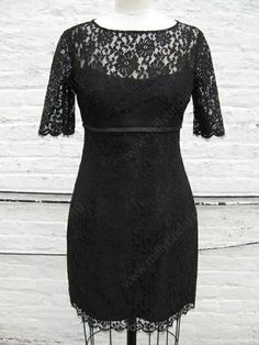 Black Lace Inspired Sheath Dress with Sleeves from kimeradesign on Etsy. Shop more products from kimeradesign on Etsy on Wanelo. Modest Homecoming Dresses, Junior Dresses, Formal Dresses, Knee Length Shorts, Perfect Little Black Dress, Cheap Dresses, Dress For You, Mother Of The Bride, Sheath Dress