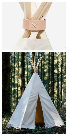 Simple, beautiful tepee for kids