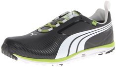 Lightweight uppers on these mens faas lite golf shoes by Puma provide incredible comfort and support