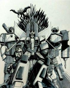 Starscream on the Iron Throne...