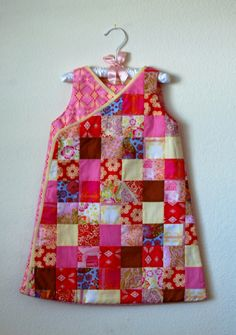 "Patchwork Sleep Sack from Anna Maria Horner ""Handmade Beginnings"""