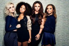 Sneak peek from Little Mix's 'move' and 'salute' photoshoot