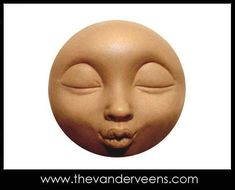 Mold No.93 Face-  with opend eyes by Veronica Jeong