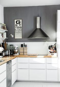 Enkelt køkken fra Ikea